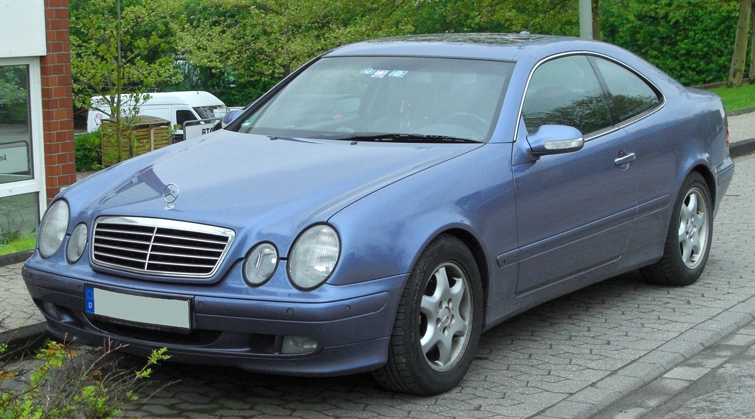 Pictures of mercedes clk #2