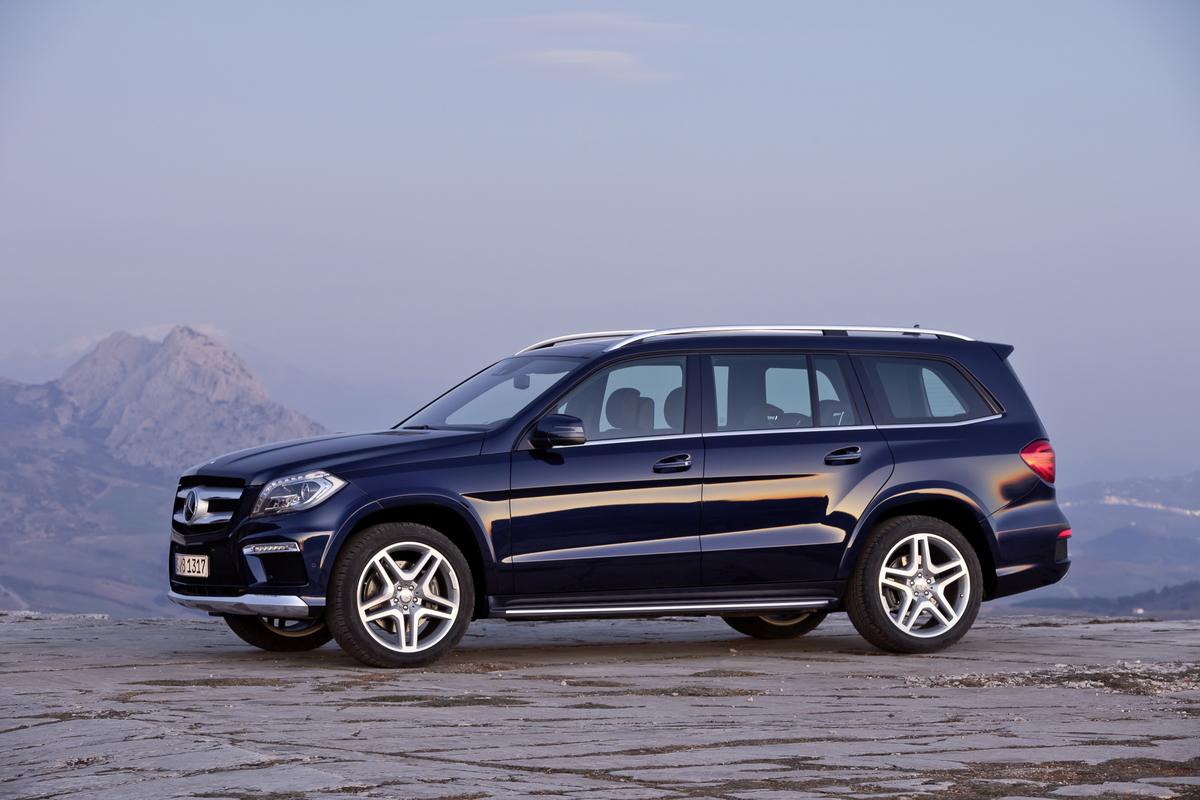 Pictures of mercedes gl