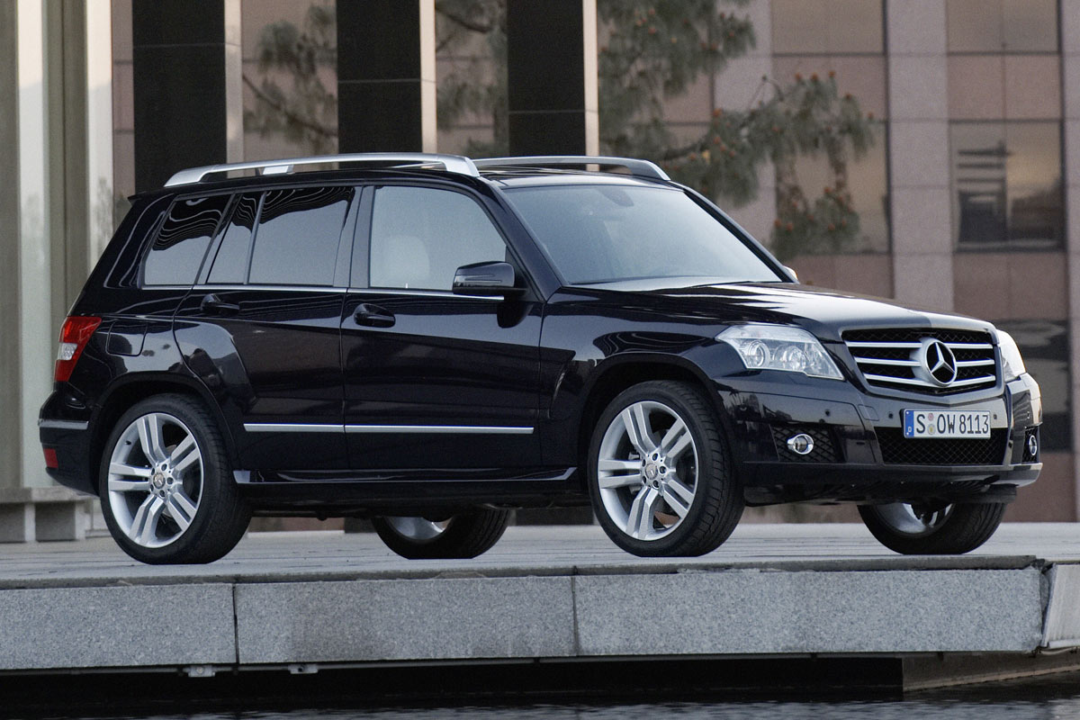 Pictures of mercedes glk