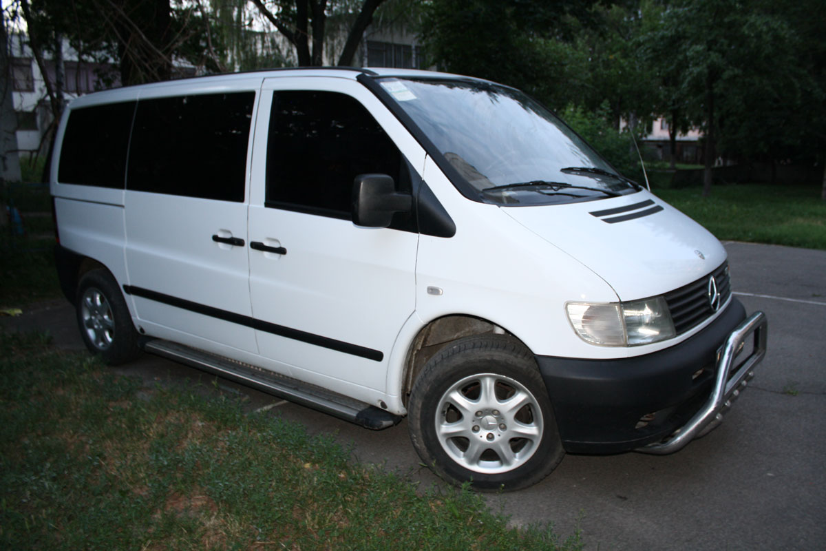 2002 Mercedes Vito i - pictures, information and specs ...