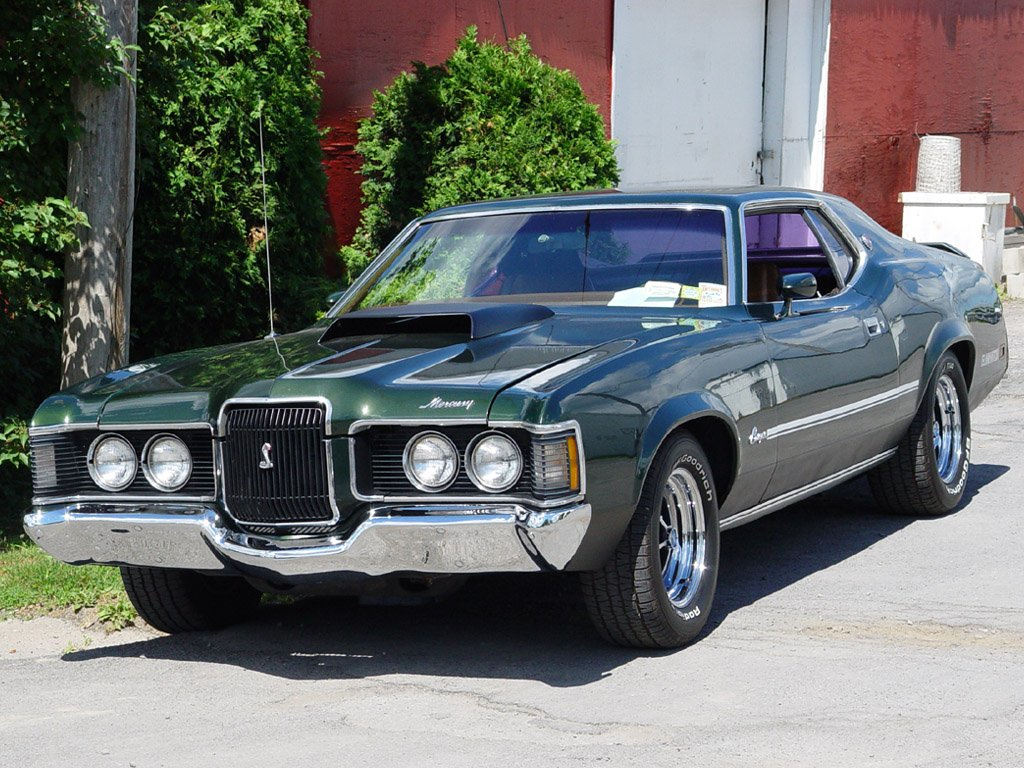 Pictures of mercury cougar