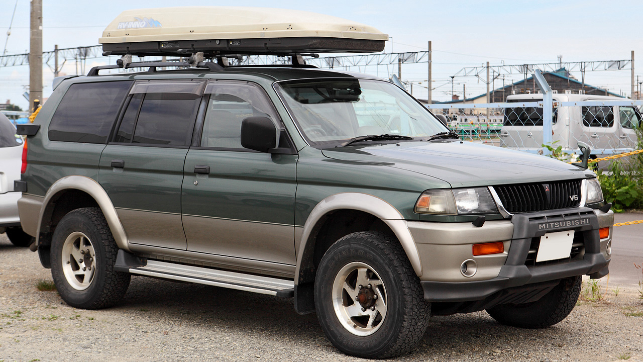 Pictures of mitsubishi challenger #5