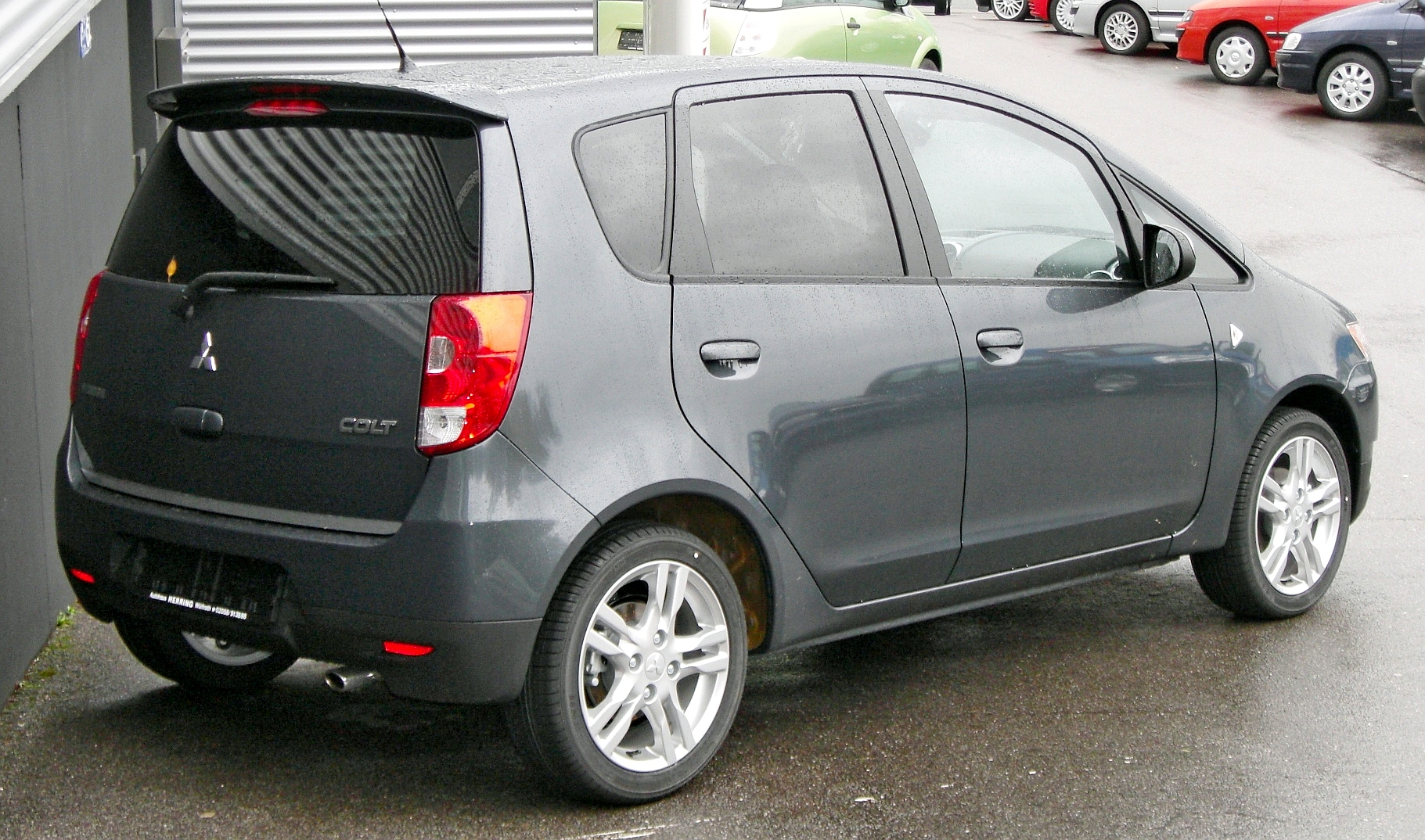 Pictures of mitsubishi colt vi 2015 #9