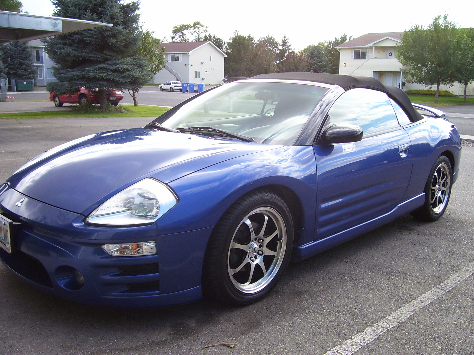 Pictures of mitsubishi eclipse spyder iii (d30) 2001 #6