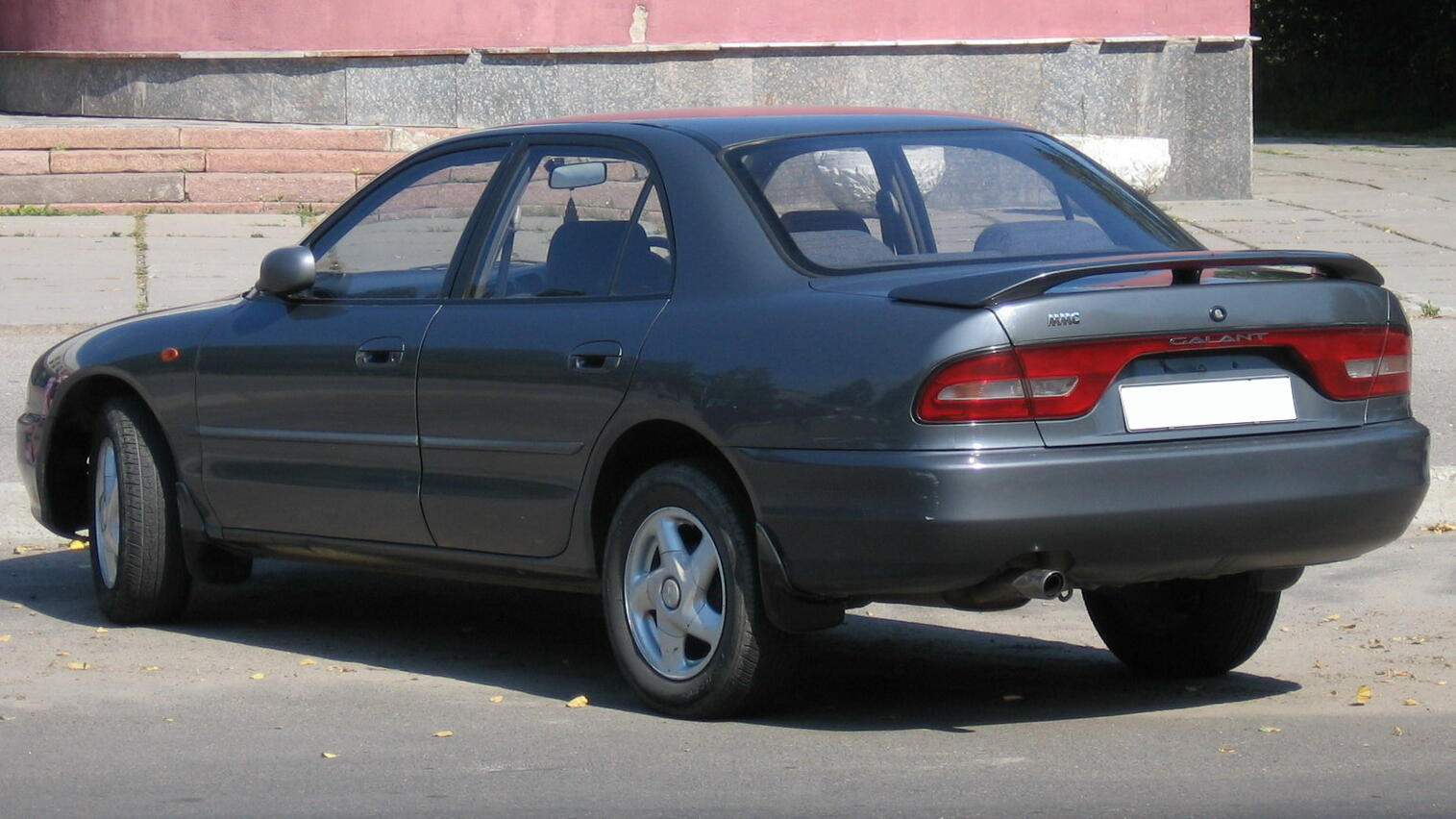 Pictures of mitsubishi galant vii 1992