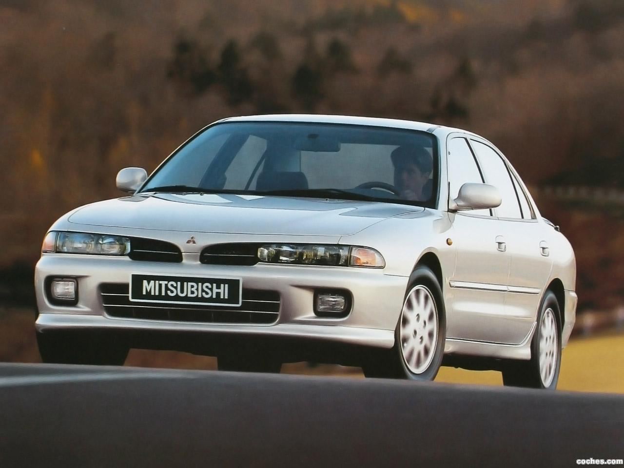 Pictures of mitsubishi galant vii sedan 1992