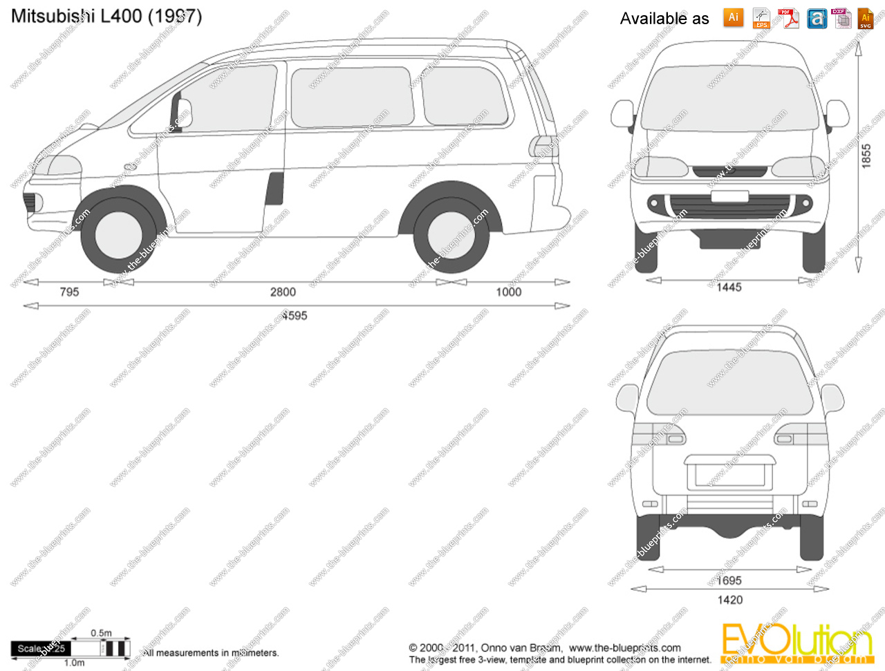 Pictures of mitsubishi l400