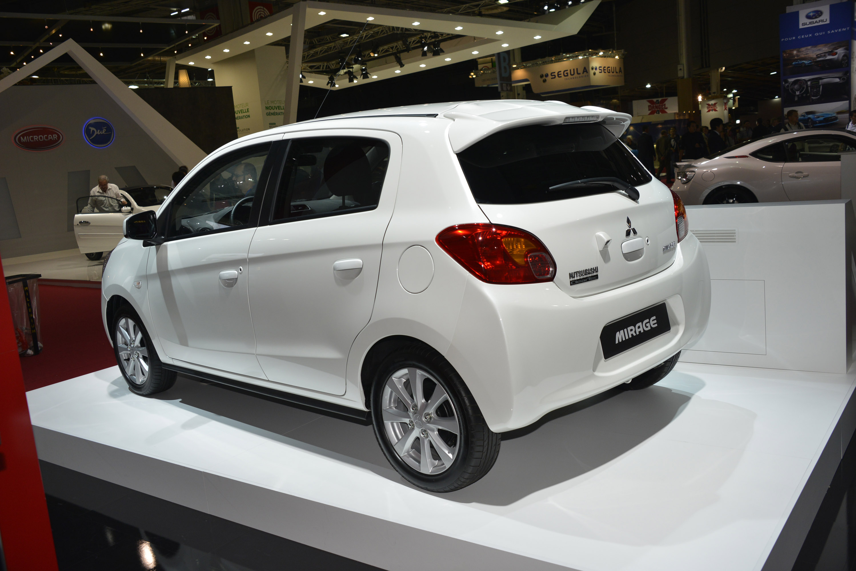 Pictures of mitsubishi mirage #4