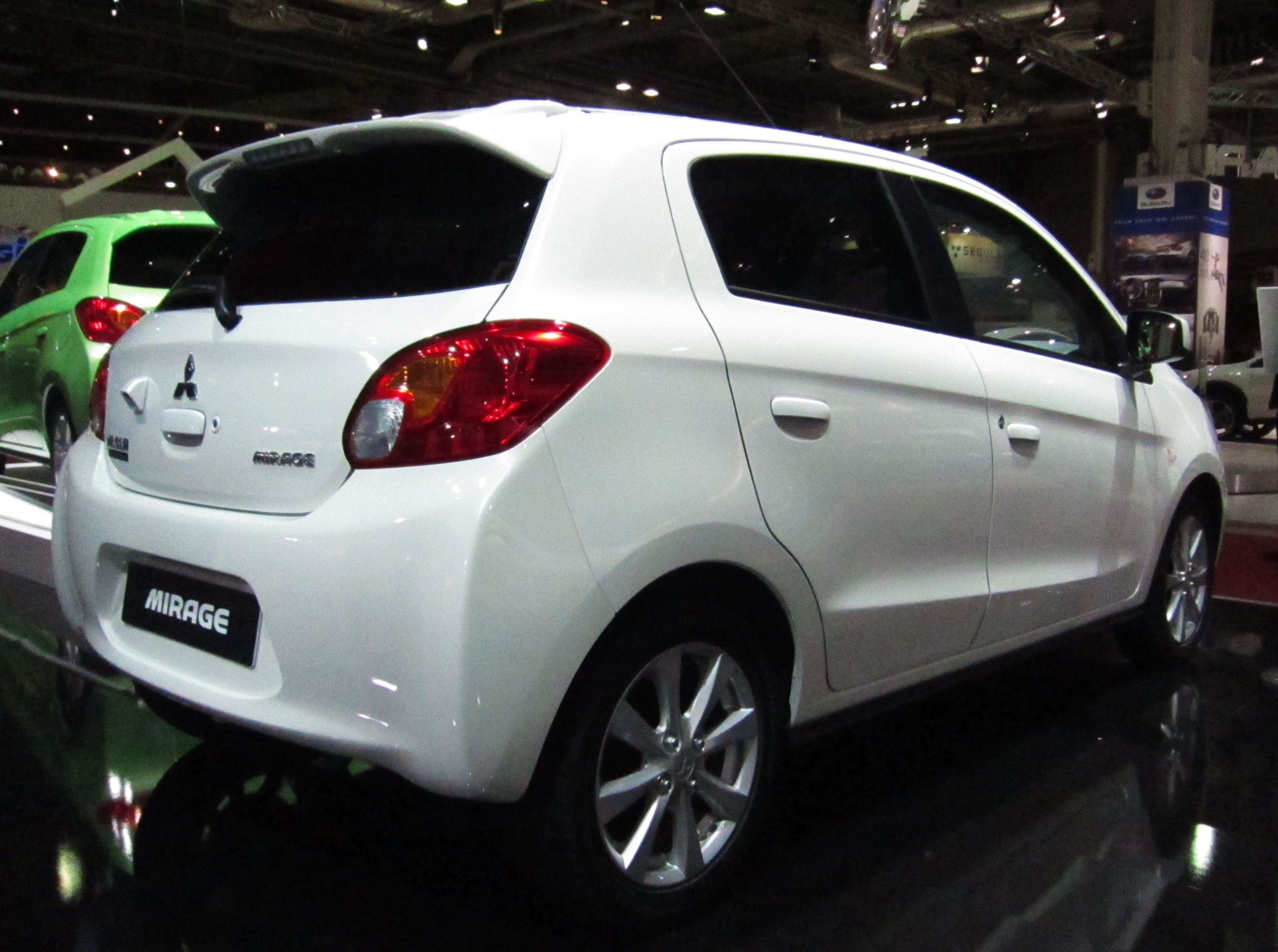Pictures of mitsubishi mirage #12