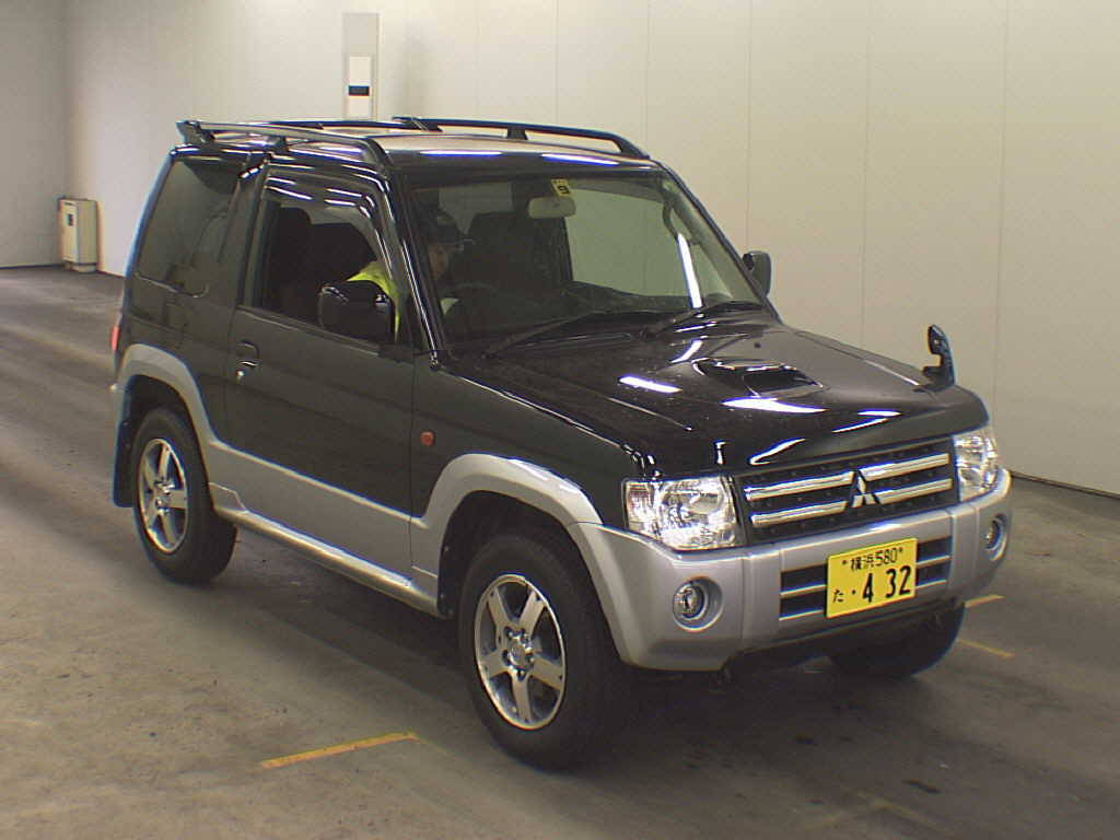 Pictures of mitsubishi pajero mini 2008