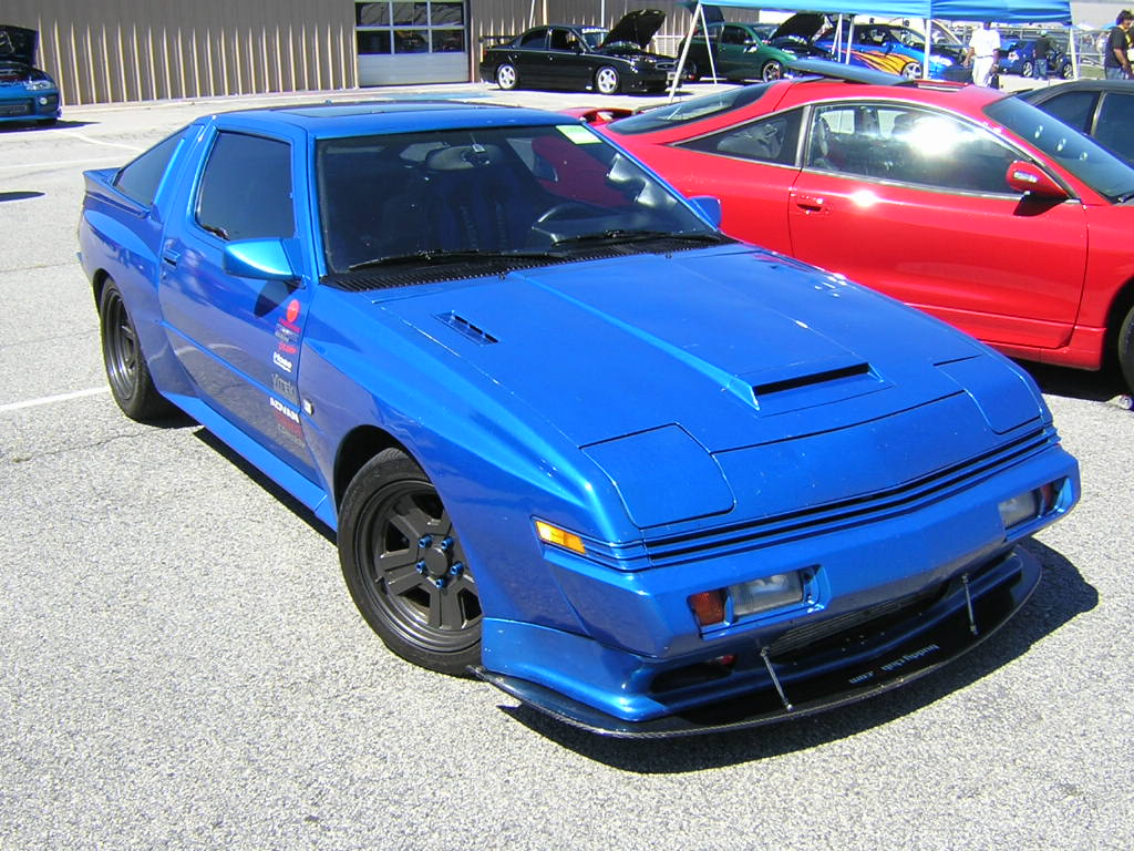 Pictures of mitsubishi starion #9