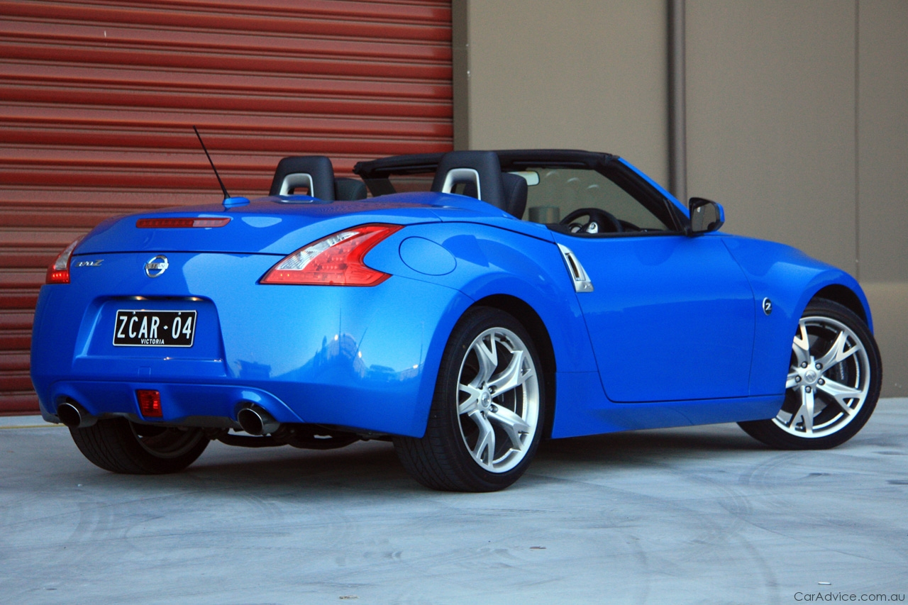 Pictures of nissan 370z roadster (z34) 2010