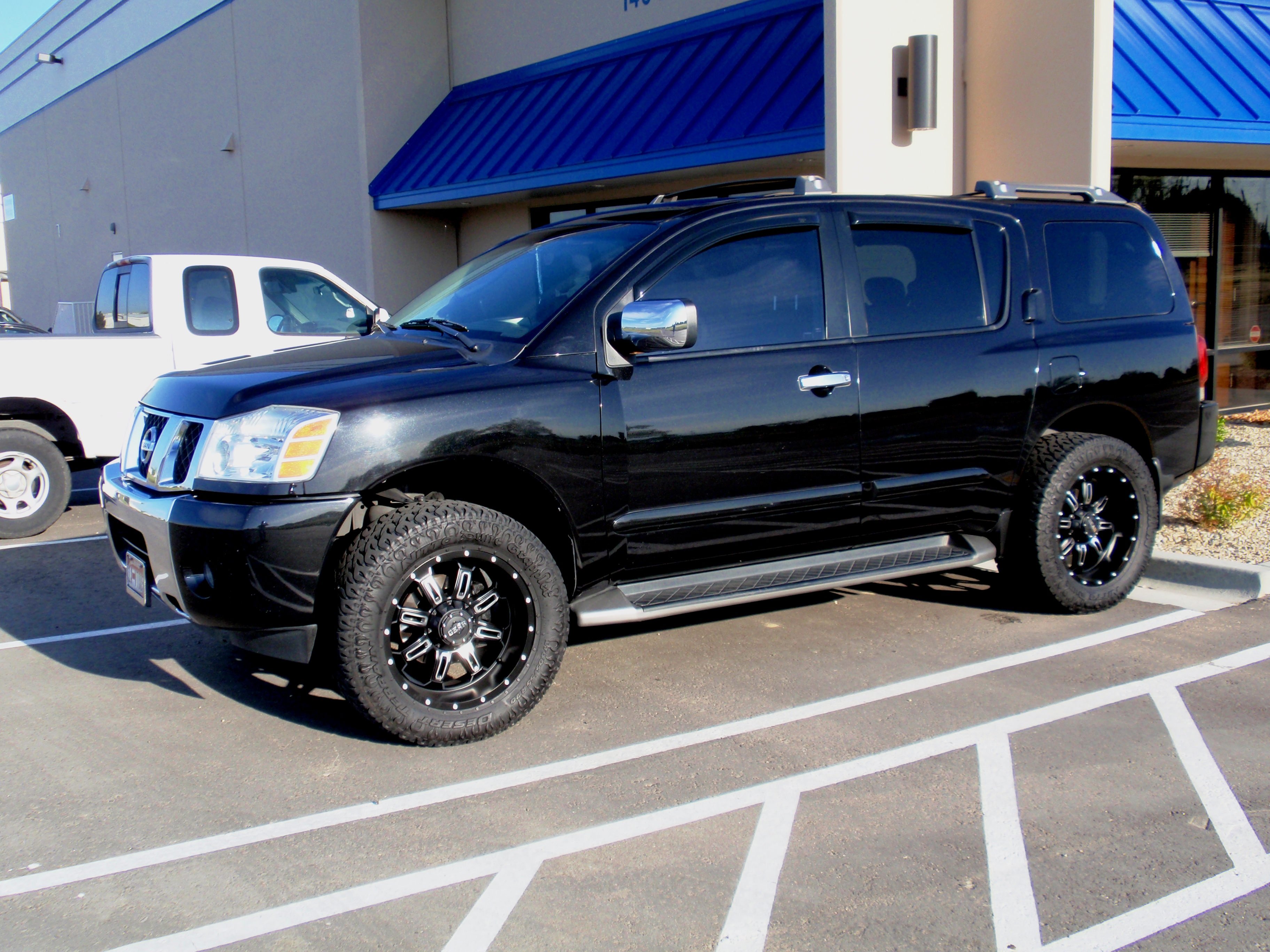 Pictures of nissan armada #14