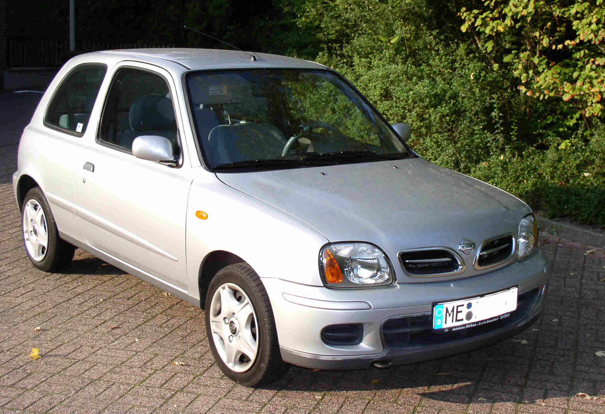 2001 Nissan Micra K11 Pictures Information And Specs