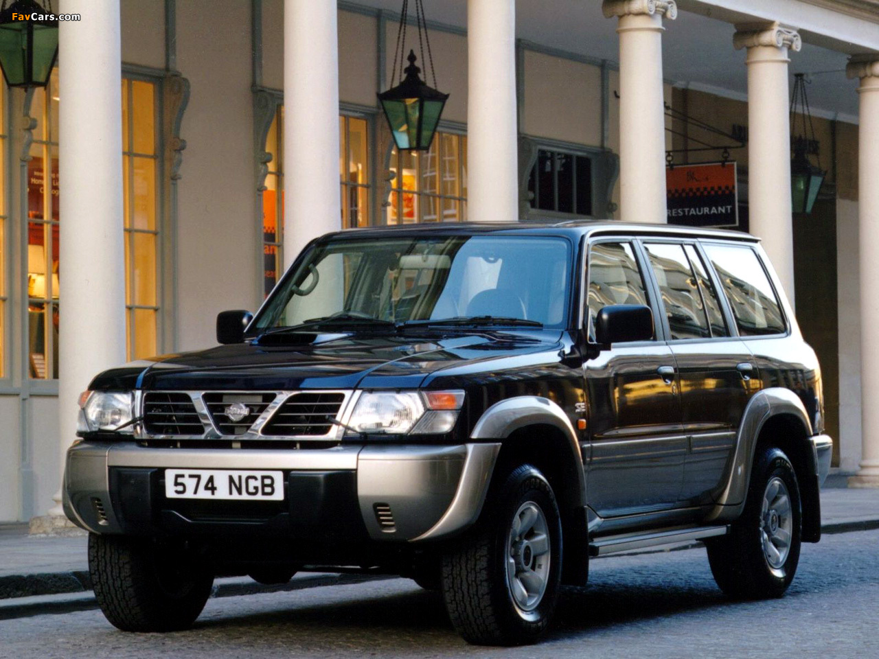 1997 nissan patrol gr ii y61 pictures information and specs auto. Black Bedroom Furniture Sets. Home Design Ideas