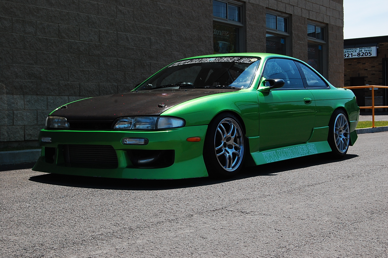 Pictures of nissan silvia (s14) 1994 #15