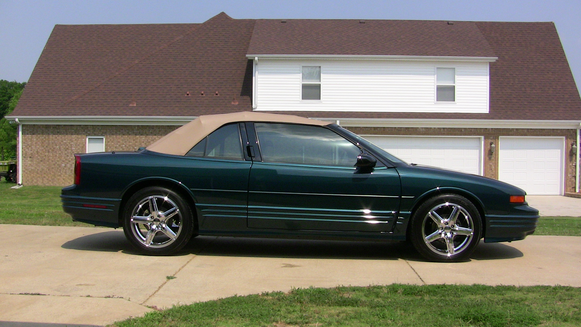 Pictures Of Oldsmobile Cutl Supreme Convertible 1995 3