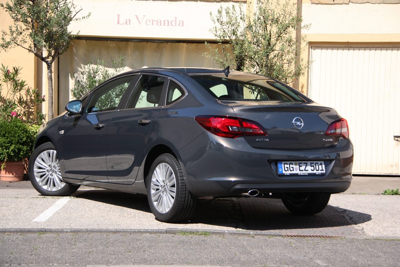 2012 Opel Astra j sedan – pictures, information and specs ...