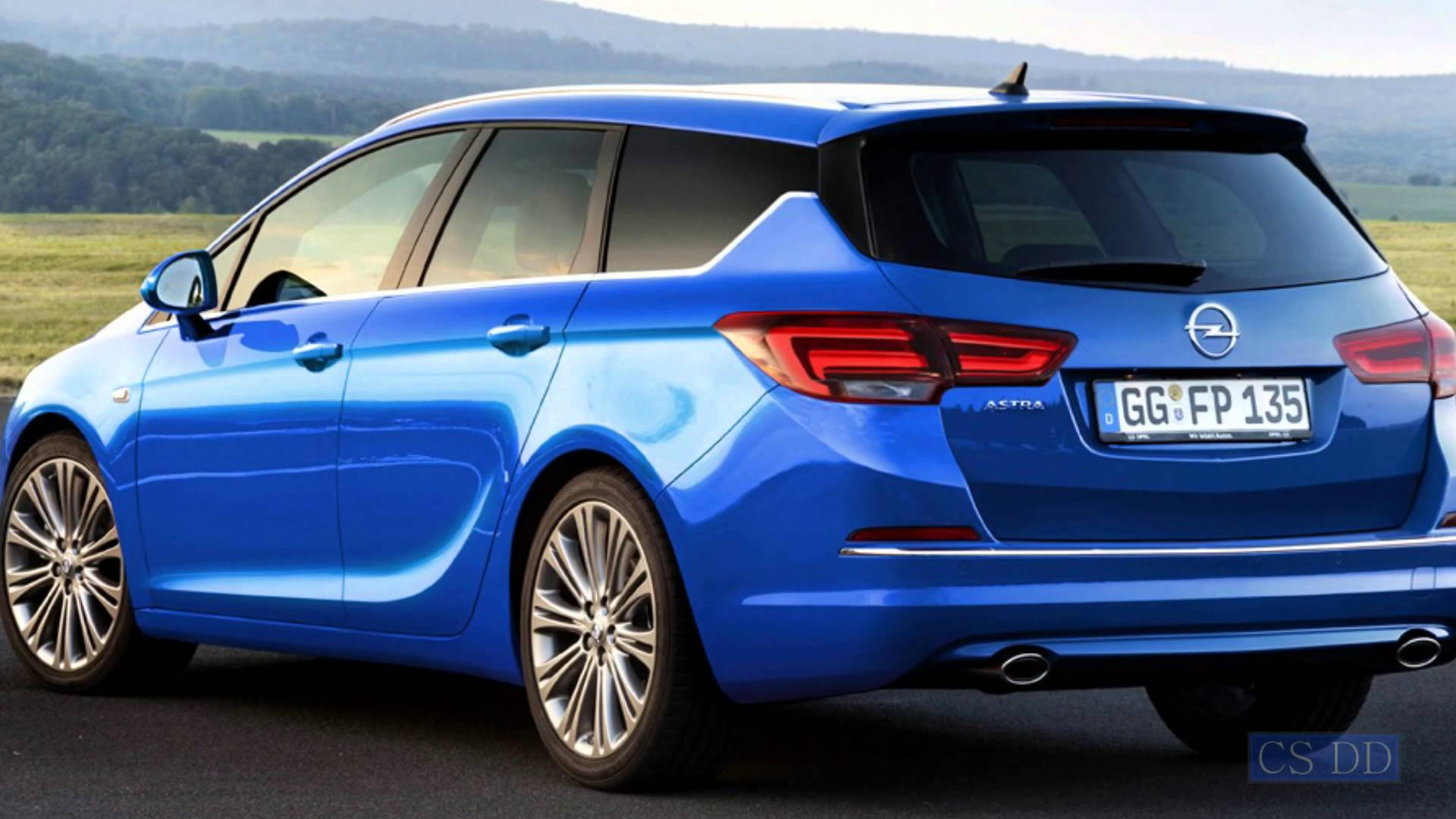 2016 Opel Astra J Sports Tourer Pictures Information And Specs