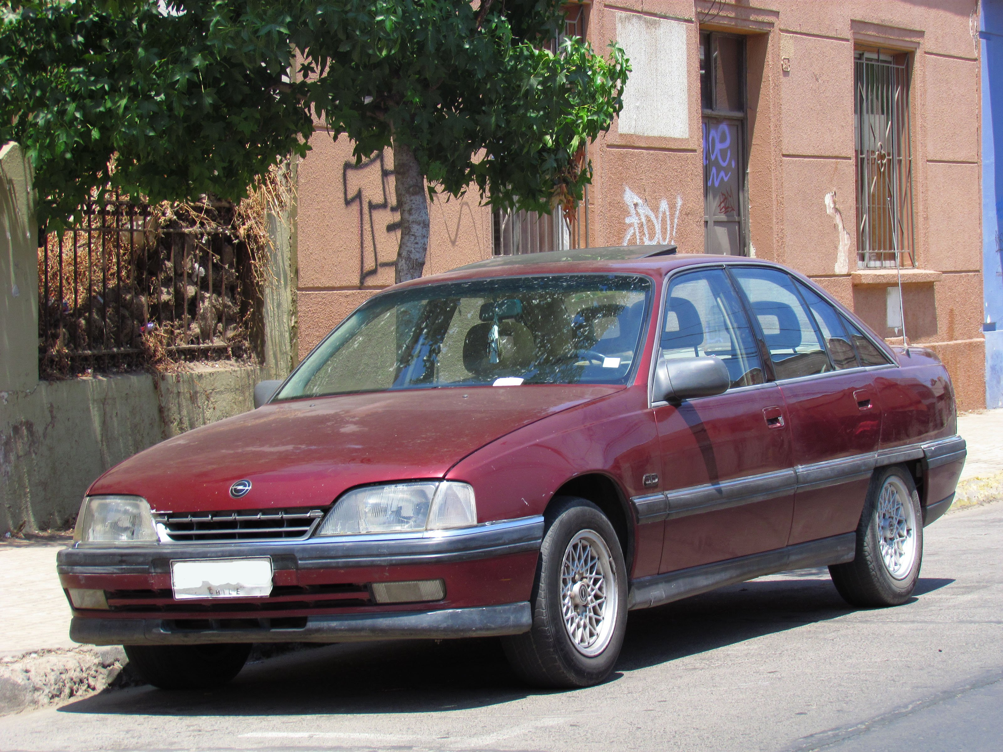 Pictures Of Opel Omega A