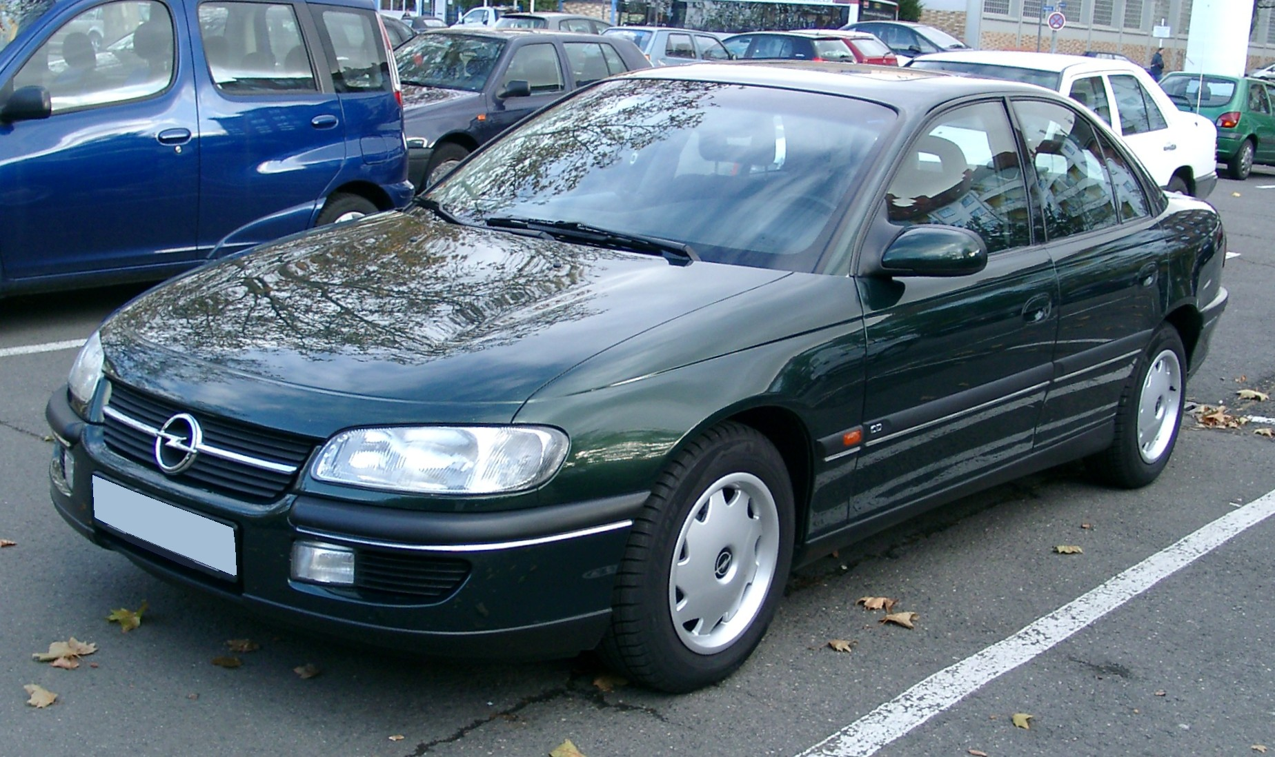 Pictures of opel omega b 1999