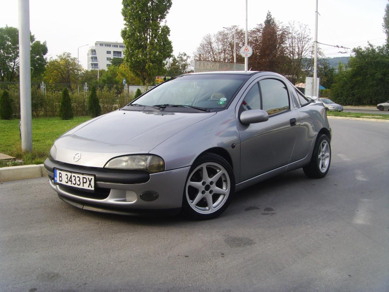 Pictures of opel tigra 1996