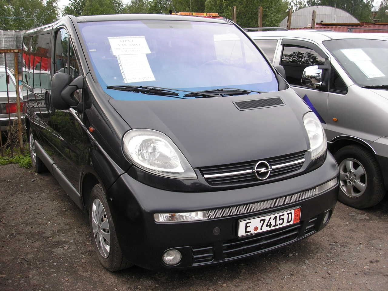 2002 opel vivaro pictures information and specs auto. Black Bedroom Furniture Sets. Home Design Ideas