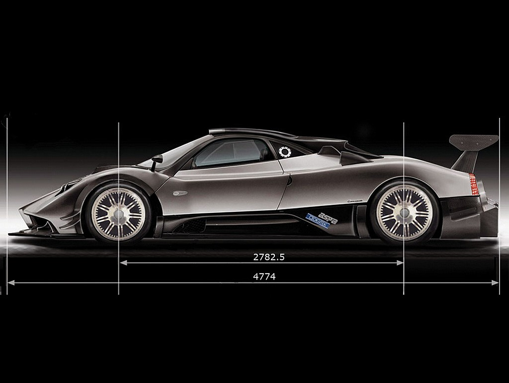 Pictures of pagani zonda c12 2005