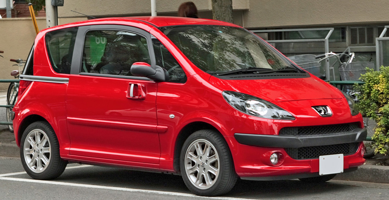 Pictures of peugeot 1007 #1
