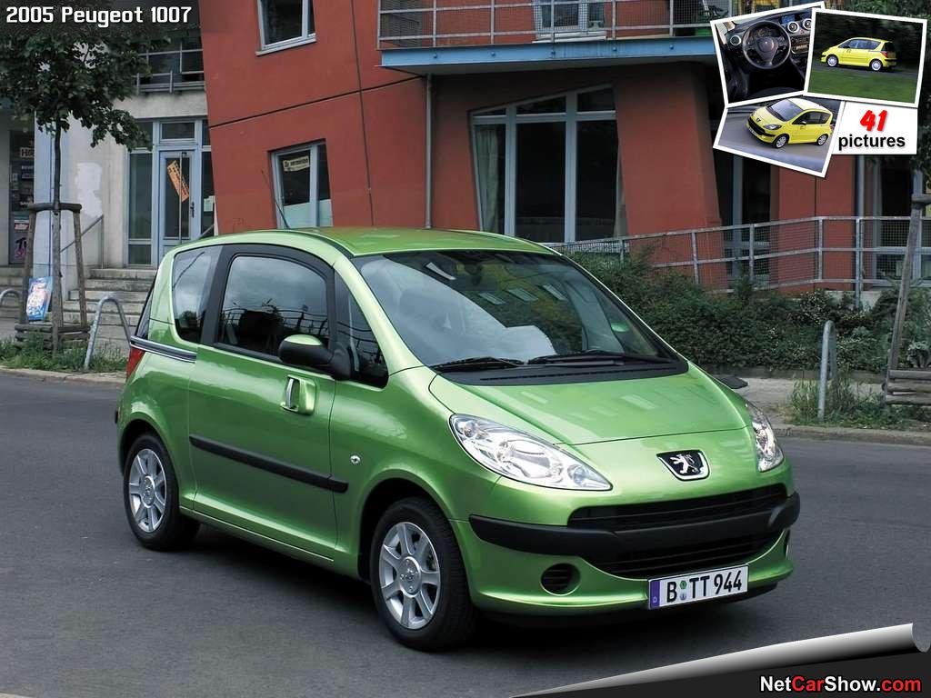 Pictures of peugeot 1007 #9