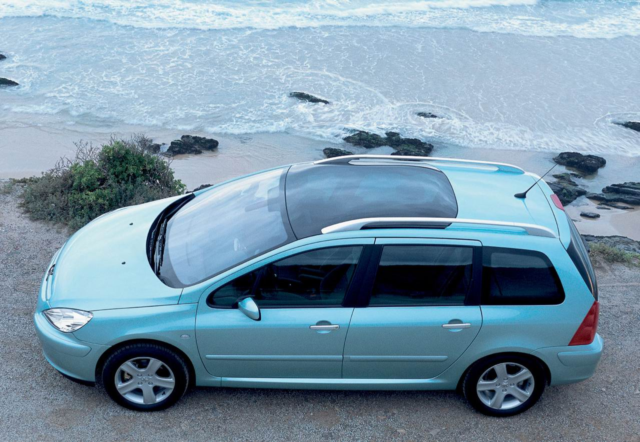 2003 Peugeot 307 station wagon – pictures, information and