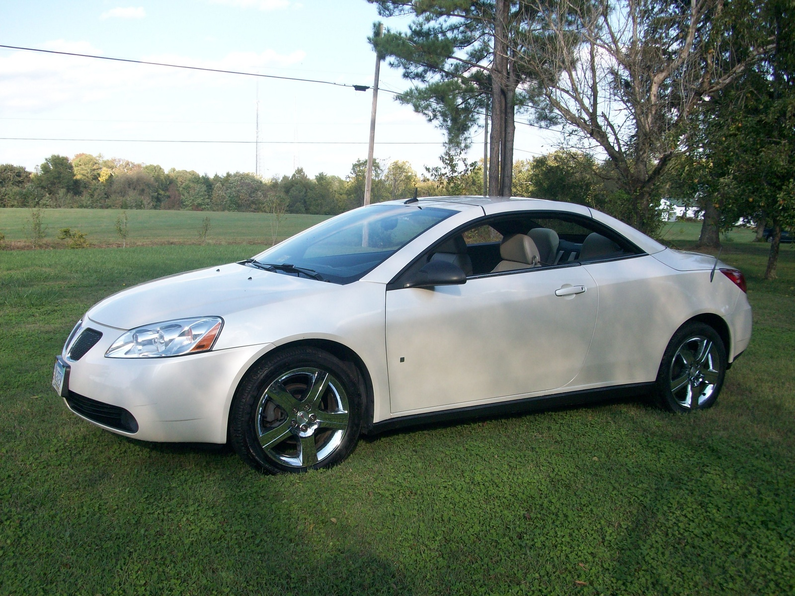 2008 Pontiac G6 Convertible Pictures Information And