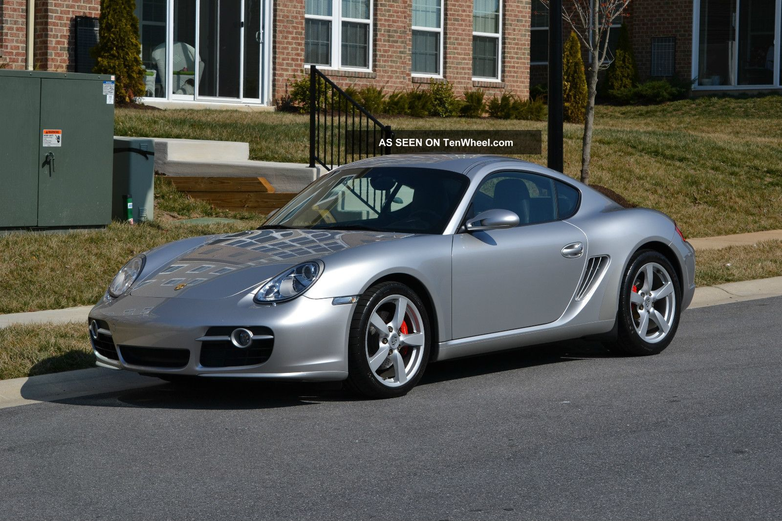 Pictures of porsche cayman 2007