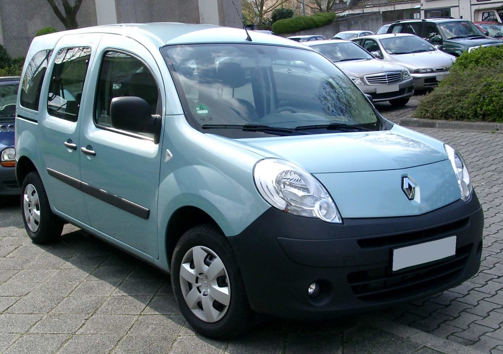 2009 renault kangoo ii w pictures information and. Black Bedroom Furniture Sets. Home Design Ideas