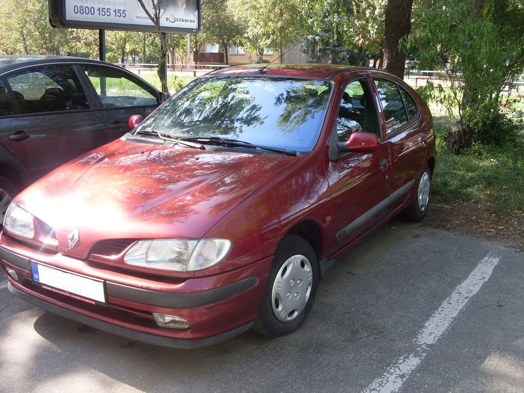 Pictures of renault megane (ba) 1996