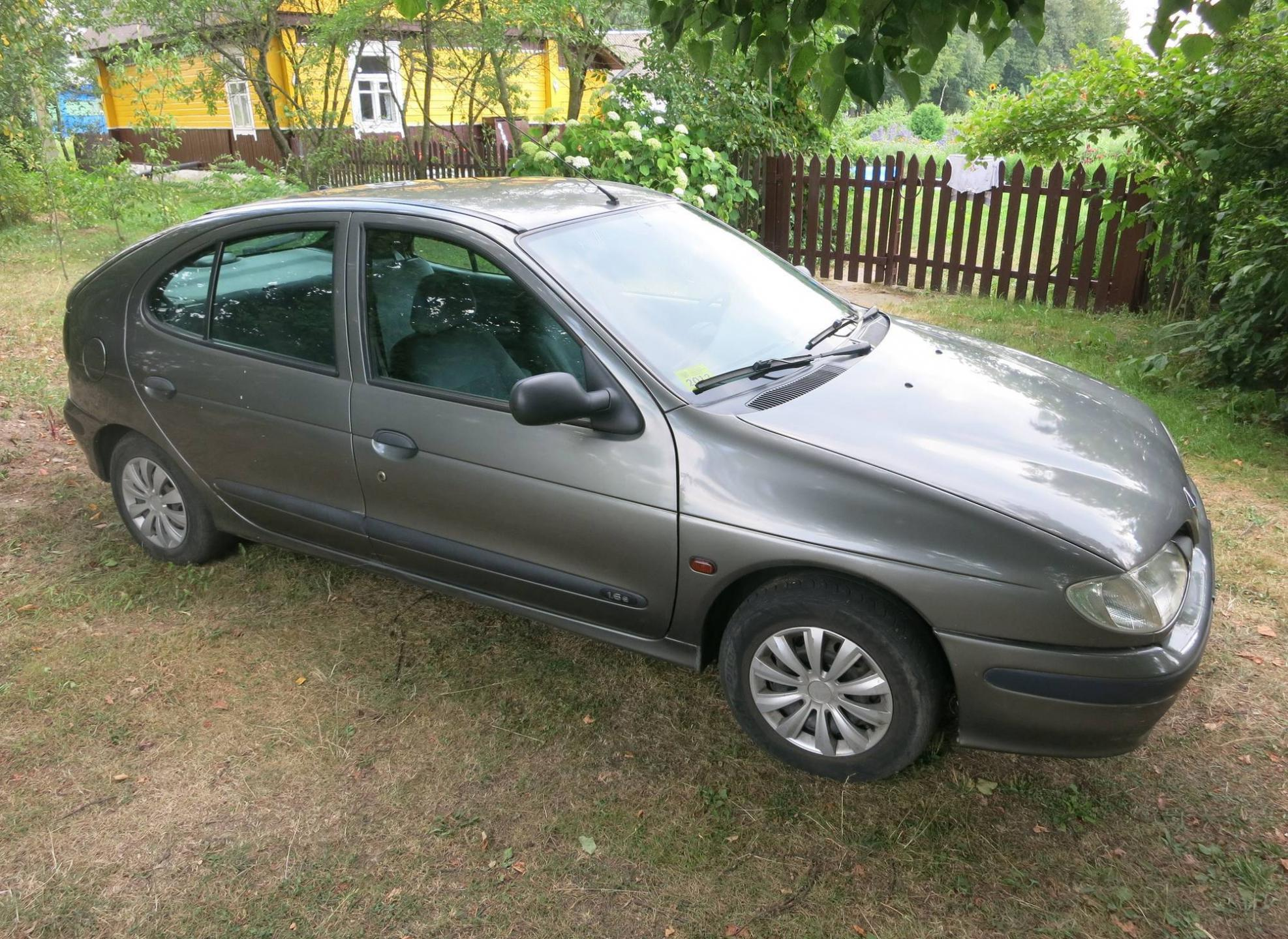 Pictures of renault megane (ba) 1998