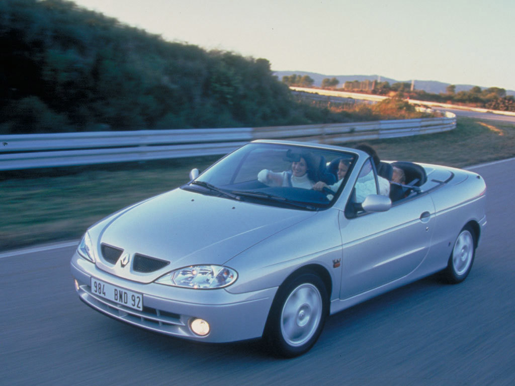 Pictures of renault megane ii cc 2003