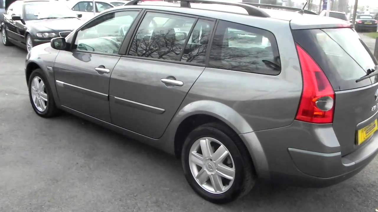 Pictures of renault megane ii coach 2004