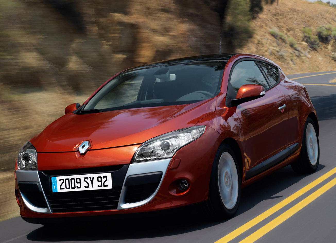 Pictures of renault megane iii coupe 2009