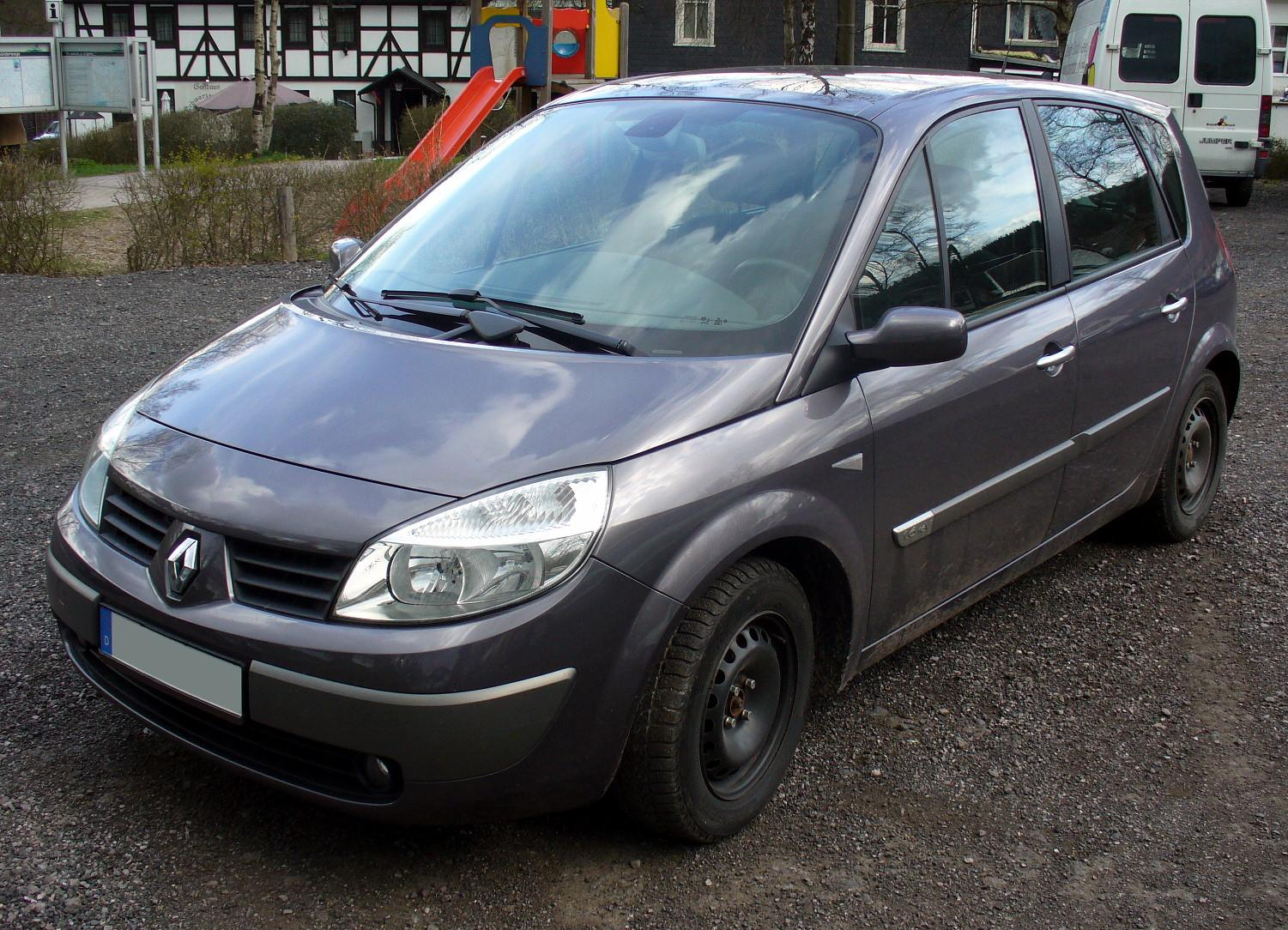 2008 renault scenic ii pictures information and specs auto. Black Bedroom Furniture Sets. Home Design Ideas