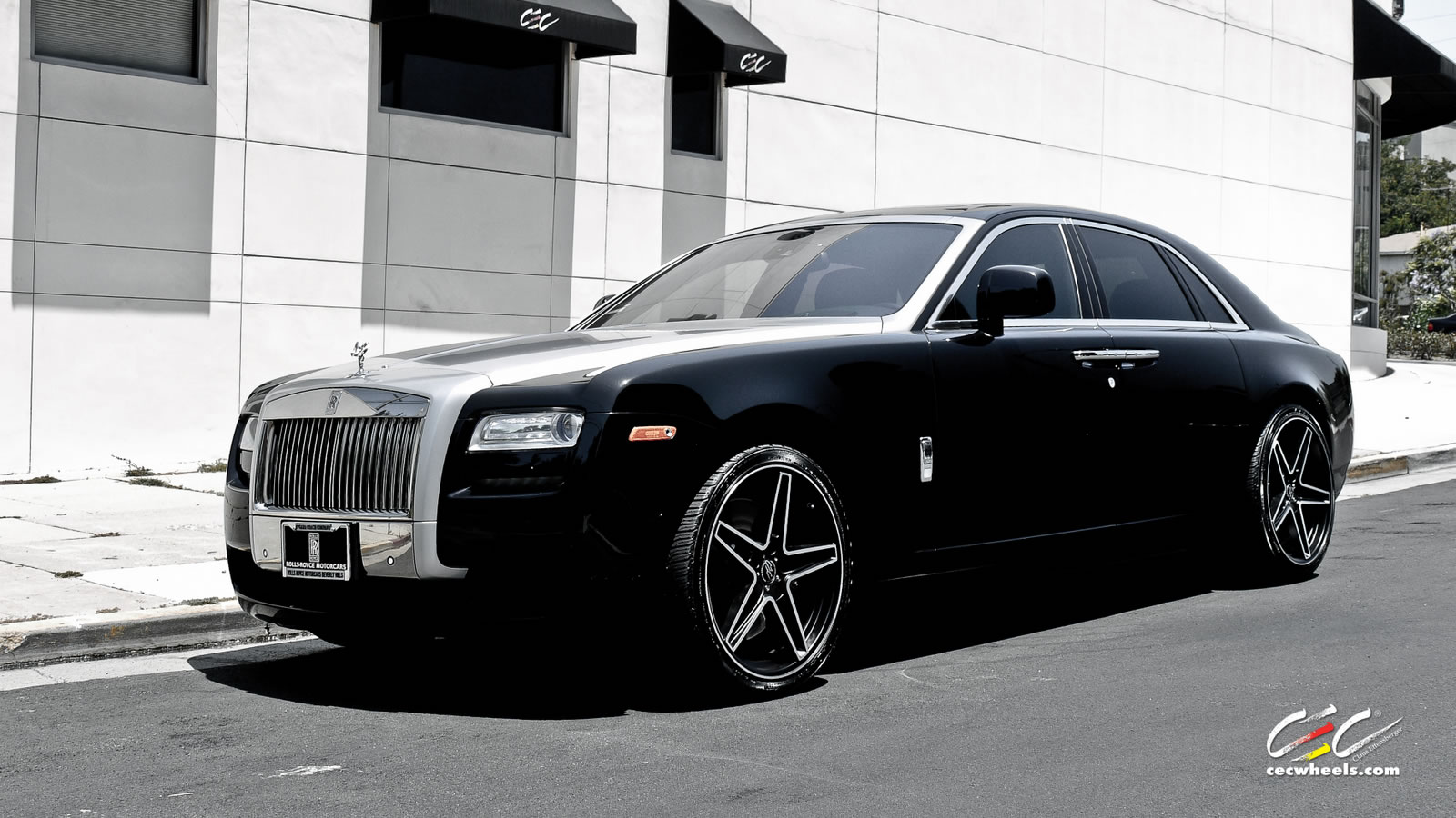 Pictures of rolls-royce ghost #7