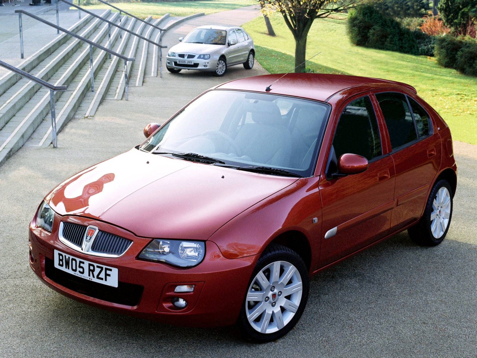 Pictures of rover 25