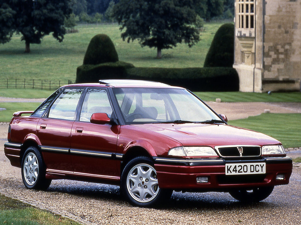 Pictures of rover 400 (xw) 1991
