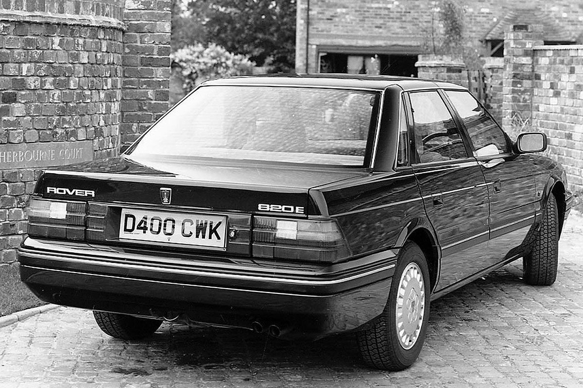 Pictures of rover 800