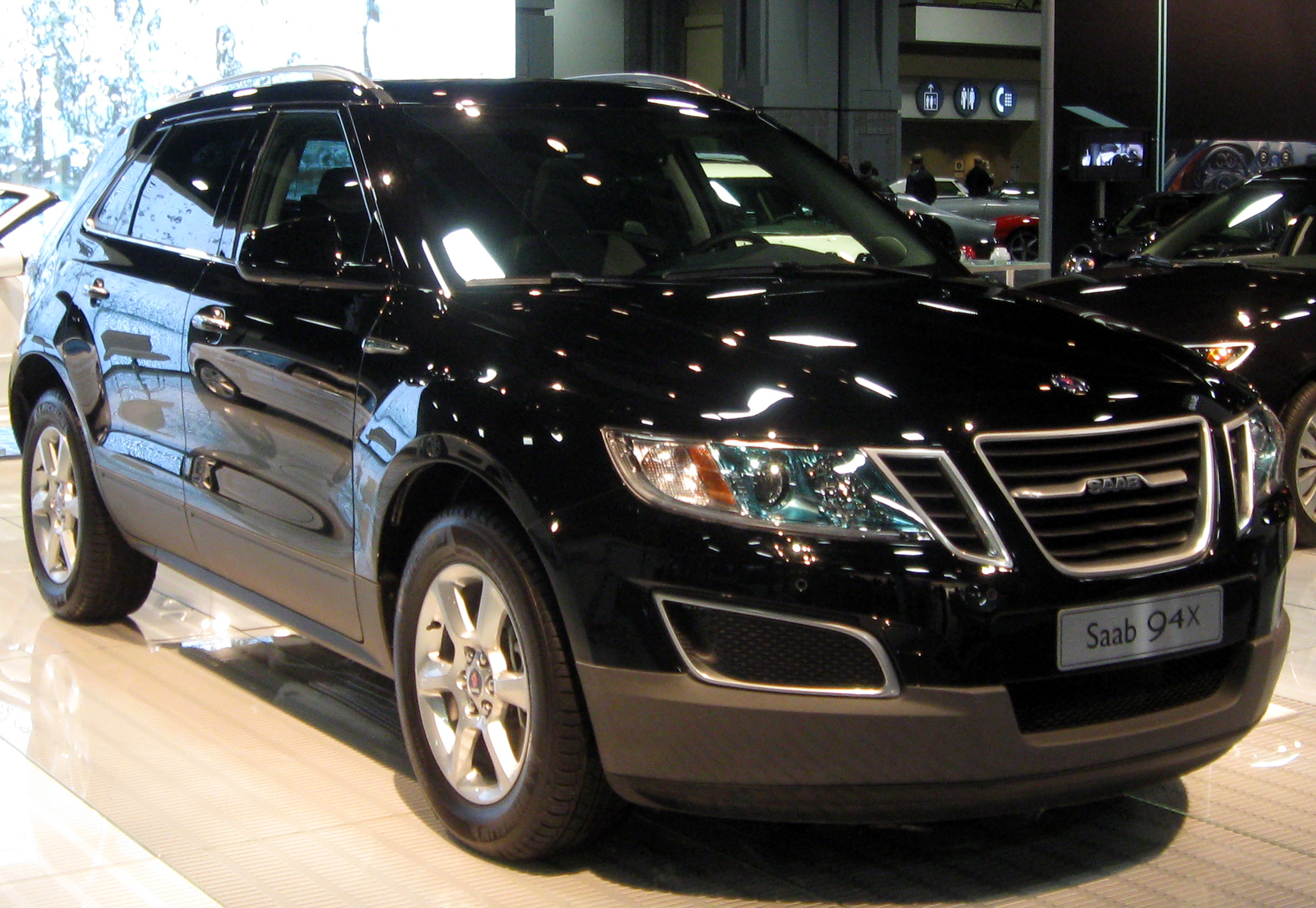 Pictures of saab 9-4x