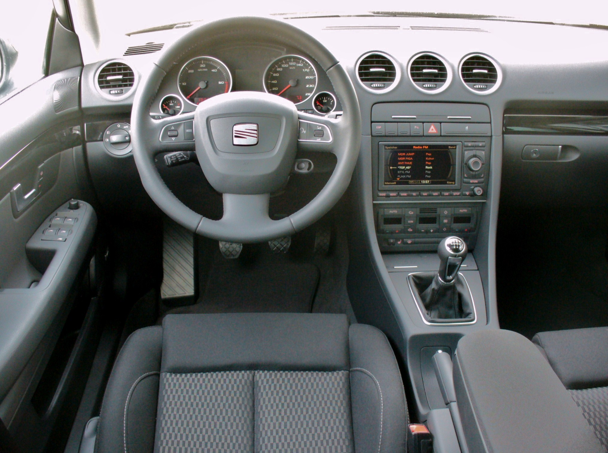 Pictures of seat exeo st 2009