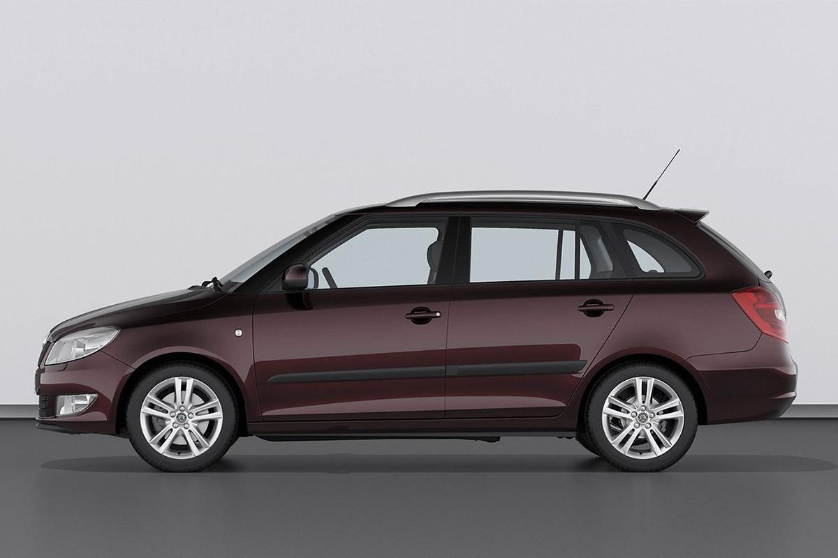 Pictures of skoda fabia ii estate 2010