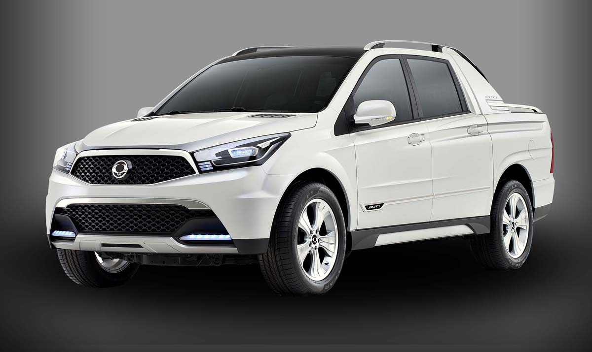 2015 ssangyong actyon sports pictures information and specs auto. Black Bedroom Furniture Sets. Home Design Ideas