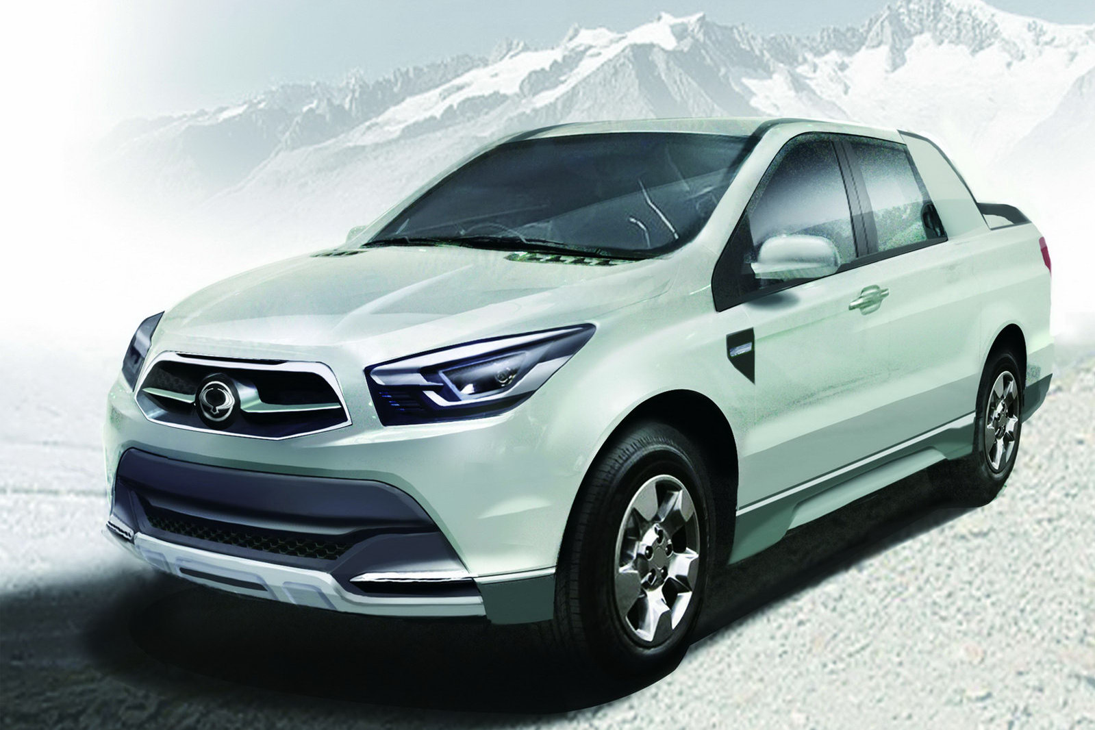 Pictures of ssangyong actyon sports 2015