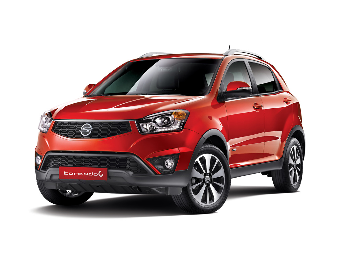 Pictures of ssangyong korando